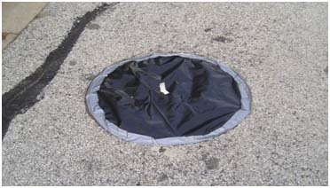 Protected Manhole